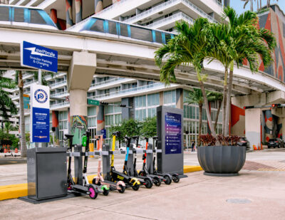 Swiftmile Brings Micromobility Charging to Miami