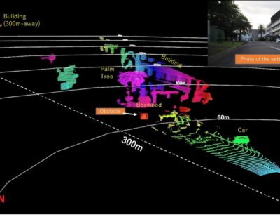 Toshiba: Solid-State LiDAR for Transportation Infrastructure Monitoring