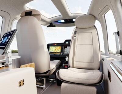 ZURI Reveals New VTOL Sustainable Interior Design Concept