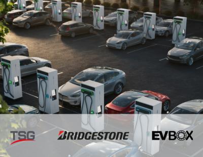 EVBox, Bridgestone and TSG Partner to Enhance EV Charging Infrastructure