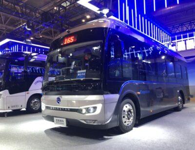 Golden Dragon Attends Beijing International Exhibition on Buses