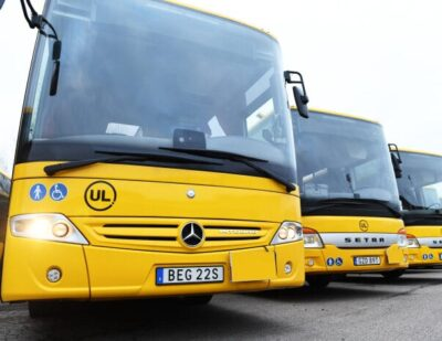 Daimler Buses Delivers 112 Interurban Buses to Mohlins Bussar