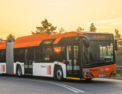 Norway Launch Fossil-Free Bus Network in Bergen with Keolis
