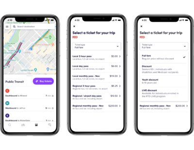 RTD, Lyft and Masabi Launch Mobile Ticketing for Transit Customers