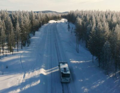 Scania Citywide Tested in Freezing Temperatures