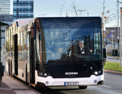 Scania's New Powertrain Saving Fuel in City Buses