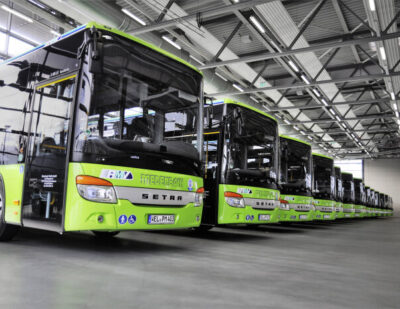 25 Setra Low-Entry Buses for Hessen and Saxony
