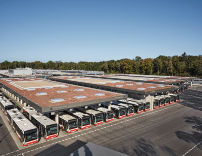 Siemens Technology for State-of-the-Art Depot in Hamburg