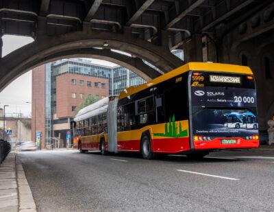 20,000th Bus Rolls off Solaris Production Line