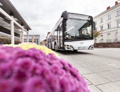 Hybrid Solaris Buses to Roll Out on the Streets of Another Romanian City