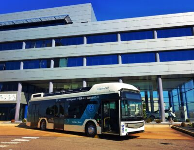 Toyota Strengthens Alliance with Caetanobus and Finlog