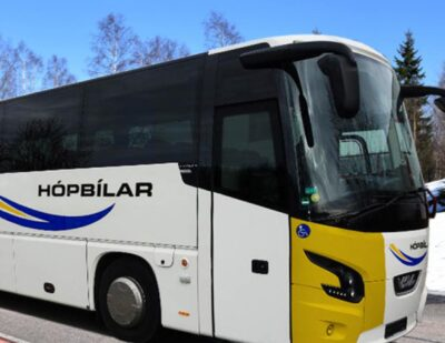 VDL Bus & Coach Makes Its Intercity Transport Debut in Iceland