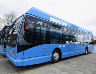 Ballard Wins Van Hool Follow-on Order For 10 Fuel Cell Modules