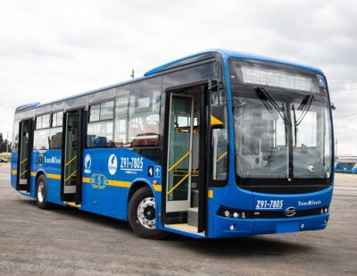 BYD Wins Another Order for 406 Electric Buses in Colombia