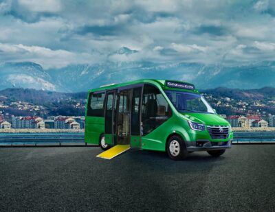 GAZelle City Bus Wins at Best Commercial Vehicle 2020 in Russia