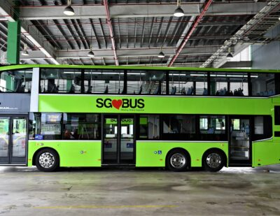 LTA to Deploy Three-Door Double-Deck Buses from 2021
