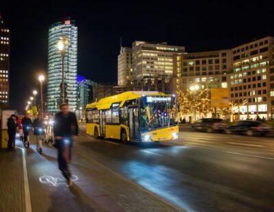 Berlin Receives 90 Electric Solaris Buses