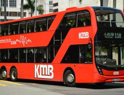 Hong Kong: KMB Orders more ADL Enviro500 Double Deckers