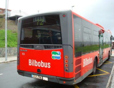 Bilbao's Metropolitan Bus Service to Pilot Contactless Ticketing