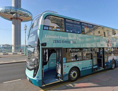 £120 million for Zero-Emission-Buses Regional Area (ZEBRA) Scheme
