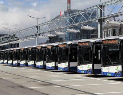 Kraków Receives Solaris Electric Buses