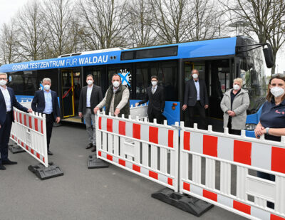 Corona Testmobile: The New Public Test Center in the Industriepark Kassel