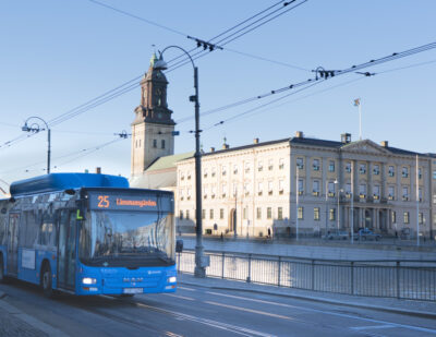 Keolis Wins Its First 100% Electric Bus Contract in Sweden
