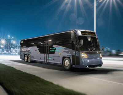 MCI Launches New D Series, Unveils Battery-Electric Commuter Coach