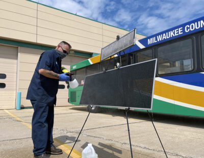 Milwaukee County Transit System Tests Air Filtration Treatment