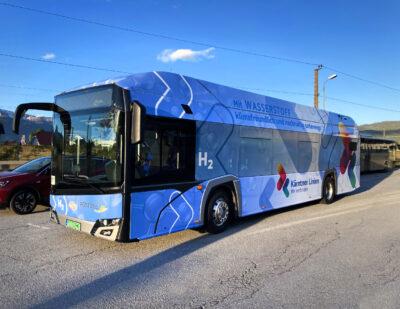 Austria Testing Hydrogen Buses by Solaris