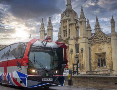 Aurrigo Auto-Shuttle Takes to the Road in Cambridge