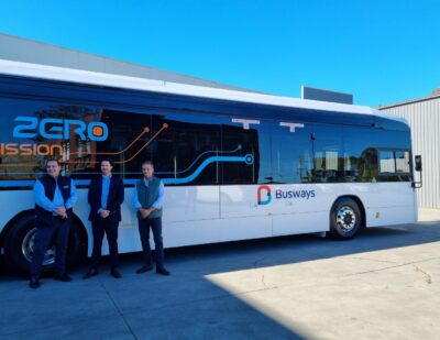 Busways: World First Order of Custom Denning Electric Buses