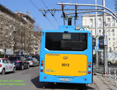 30 New Chariot-Higer UC e-Buses for Sofia, Bulgaria