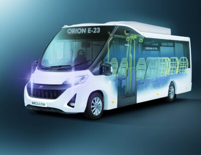 Mellor Expands Electric Bus Offering with Orion E23 and Maxima E23