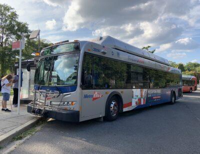 New Flyer: 100 Additional Transit Buses for Washington Metro Region