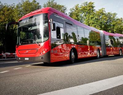Volvo Receives Order for 36 Hybrid Buses in Switzerland