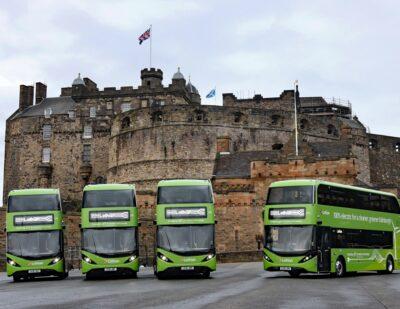 Lothian Buses Receives BYD ADL Enviro400EV Electric Double Deckers