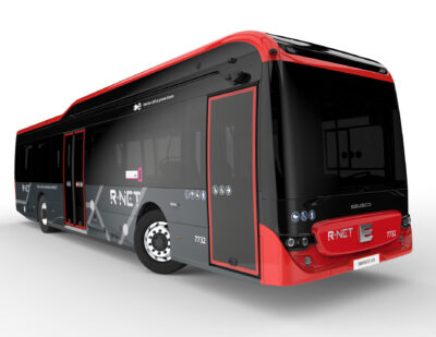 39 of Ebusco's Fully-Composite, Electric Buses for the Netherlands
