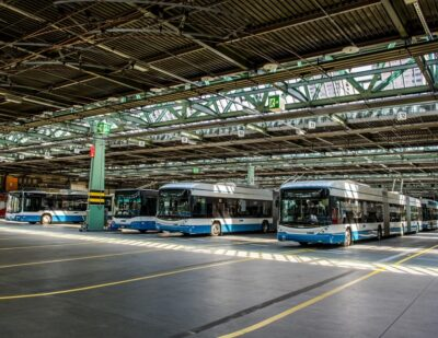 eBus Charging Solution from Siemens Chosen for Zurich