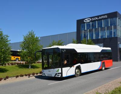 Malbork Receives Electric Solaris Buses