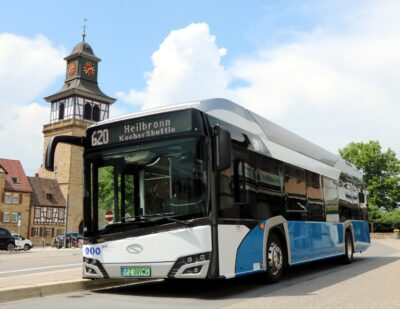 Heilbronn District in Germany Opts for Hydrogen Solaris Buses