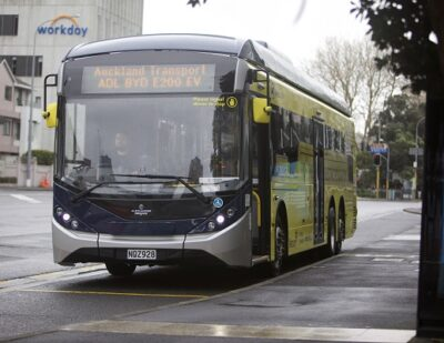 BYD Delivers First BYD ADL Enviro200EV XLB in New Zealand