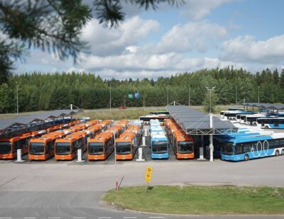 First BYD eBuses Arrive In Helsinki for Nobina