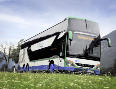 Stress-Free Travel to the Bavarian Mountains with Setra Coaches