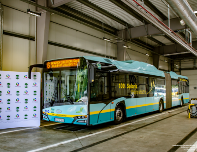 More Electric Solaris Buses Going to Jaworzno