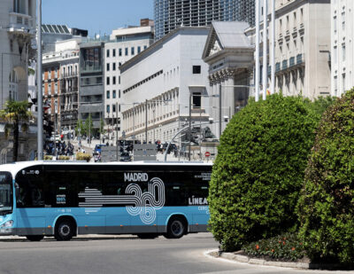 30 More Electric Buses from Irizar e-mobility for EMT Madrid